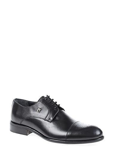 %100 Deri Bağcıklı Klasik Ayakkabı-Pierre Cardin
